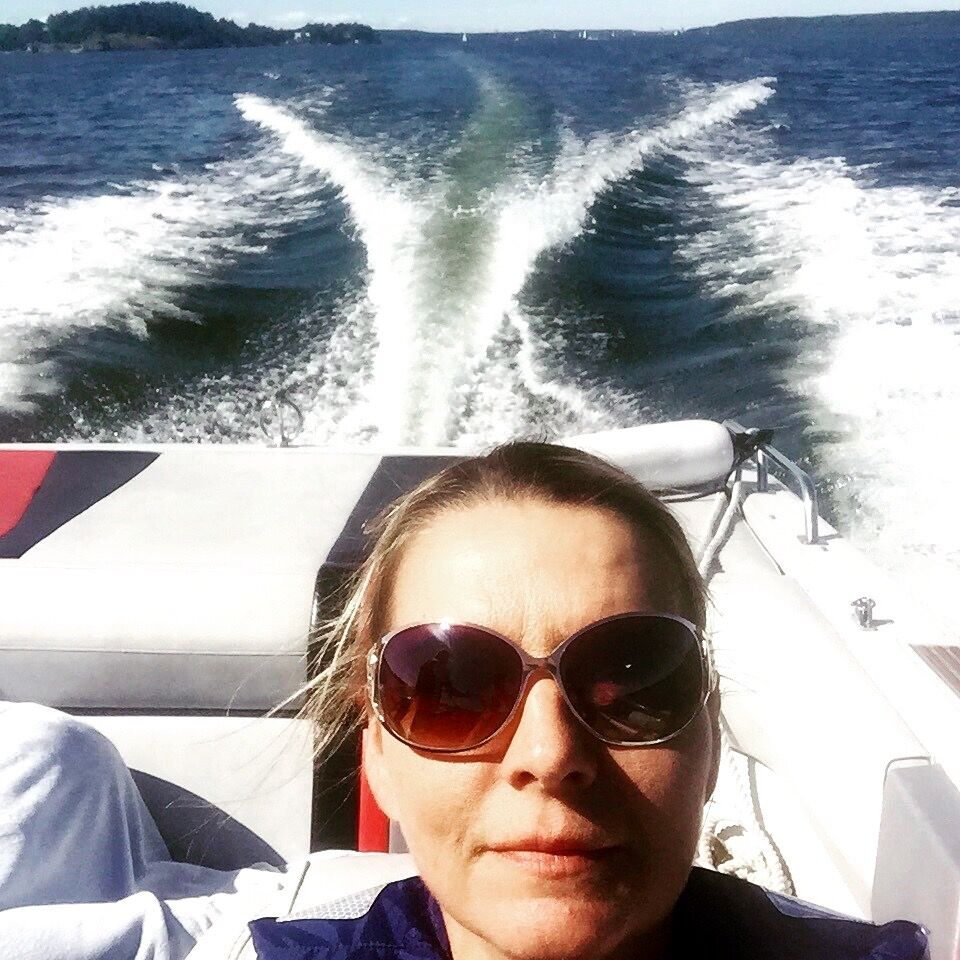 Monika Ahlberg, Östersjön