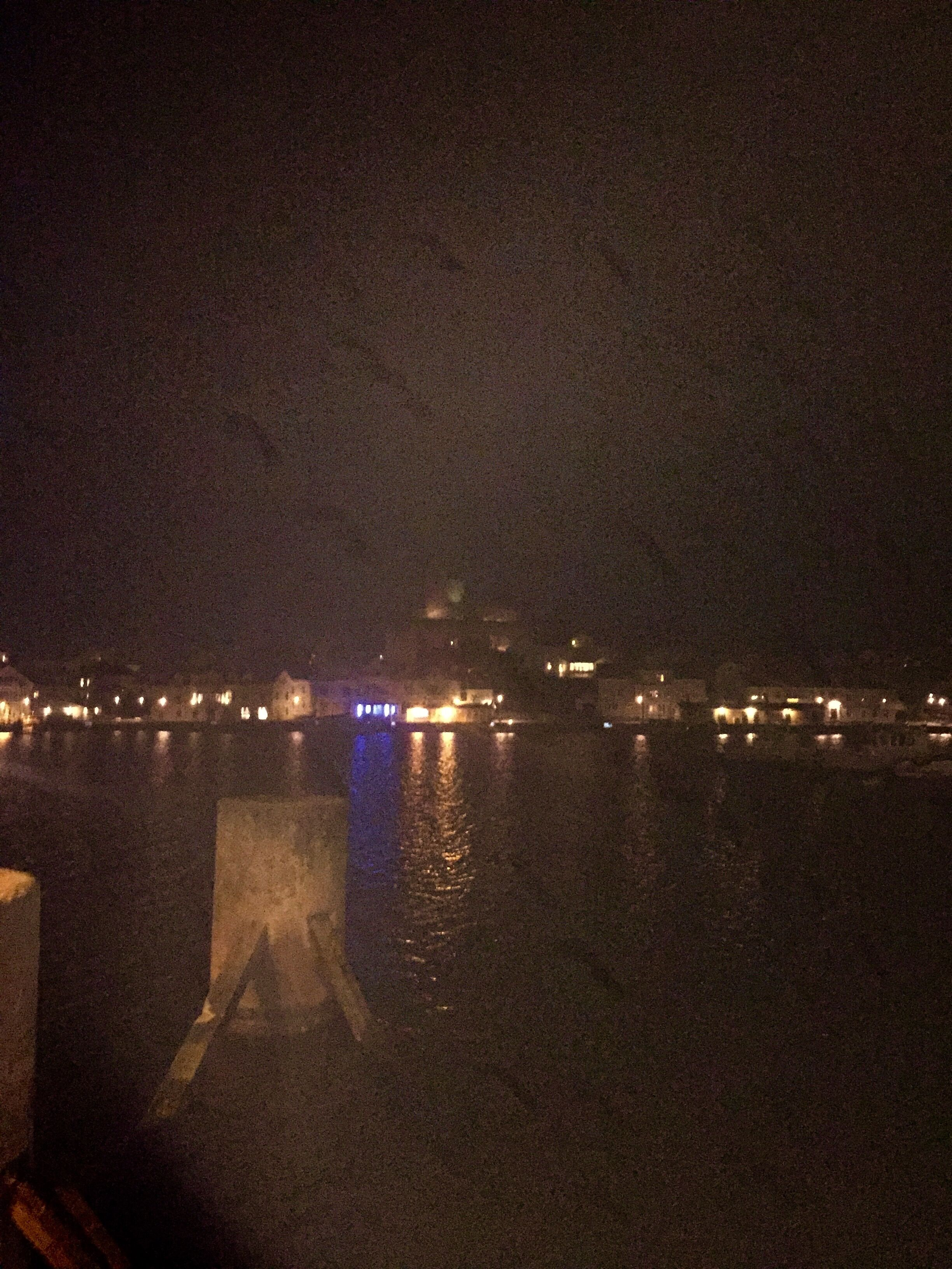 Marstrand, Night