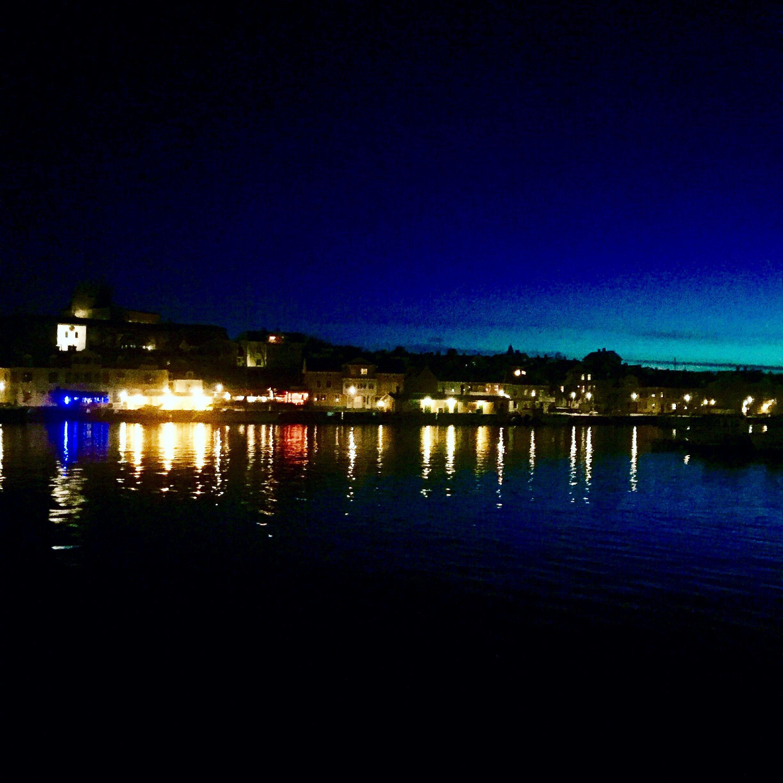 Marstrand by night