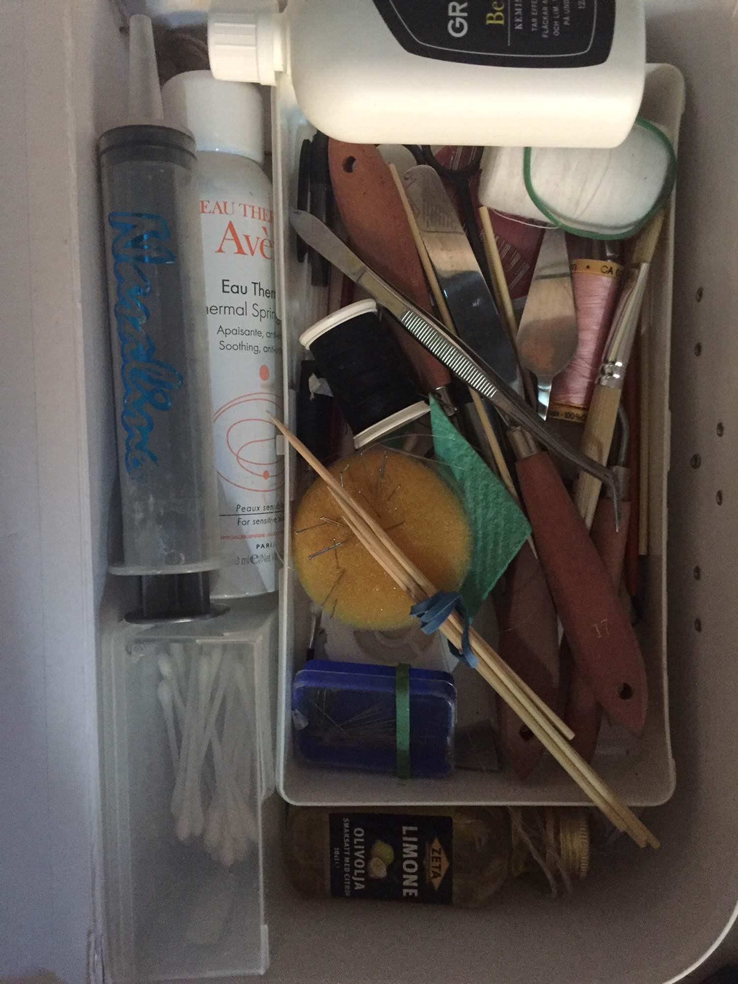 Styling-kit är något jag alltid har med mig. Här är mina bästa verktyg för knepiga situationer.