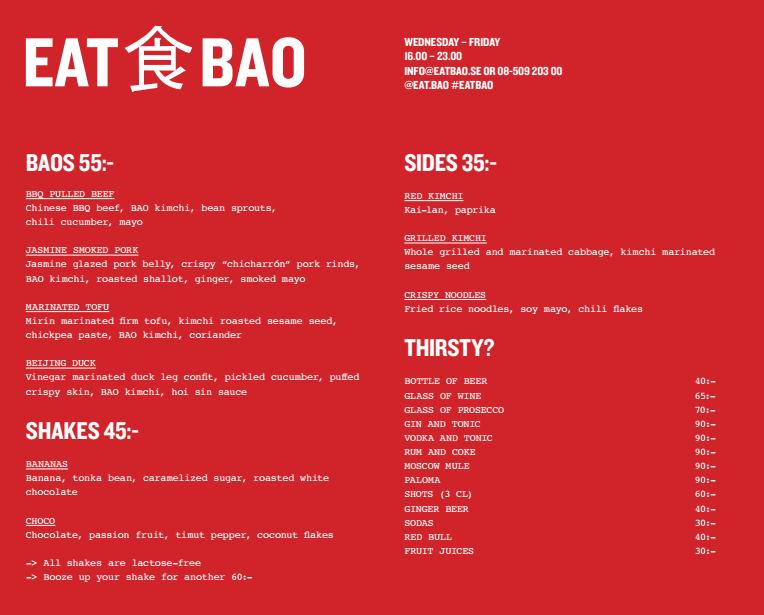 EAT BAO
