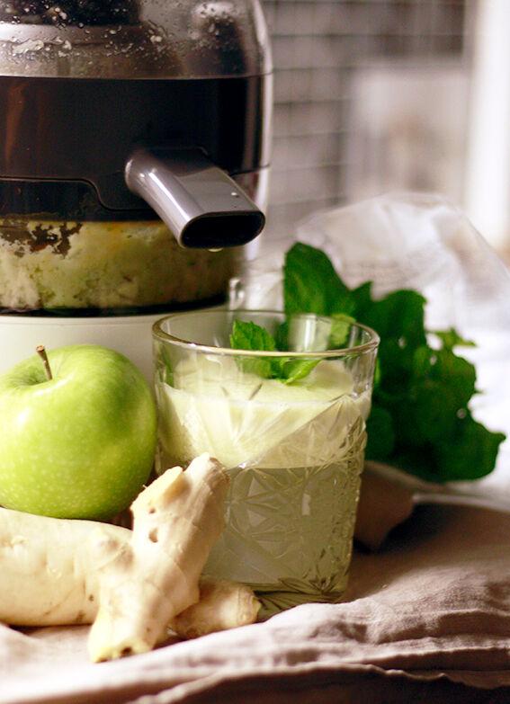 färskpressad äpplejuice recept morgondrink