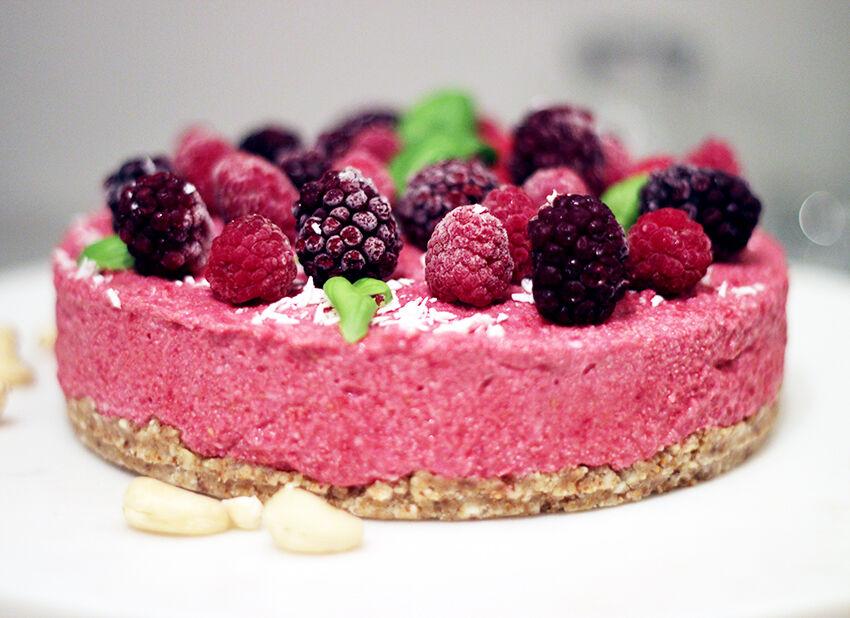 raw cake hallon