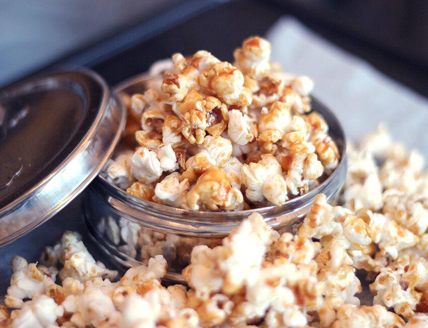 popcorn med smak