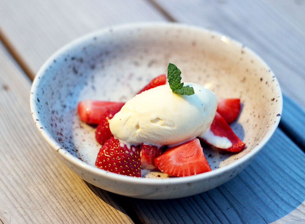 vaniljglass recept
