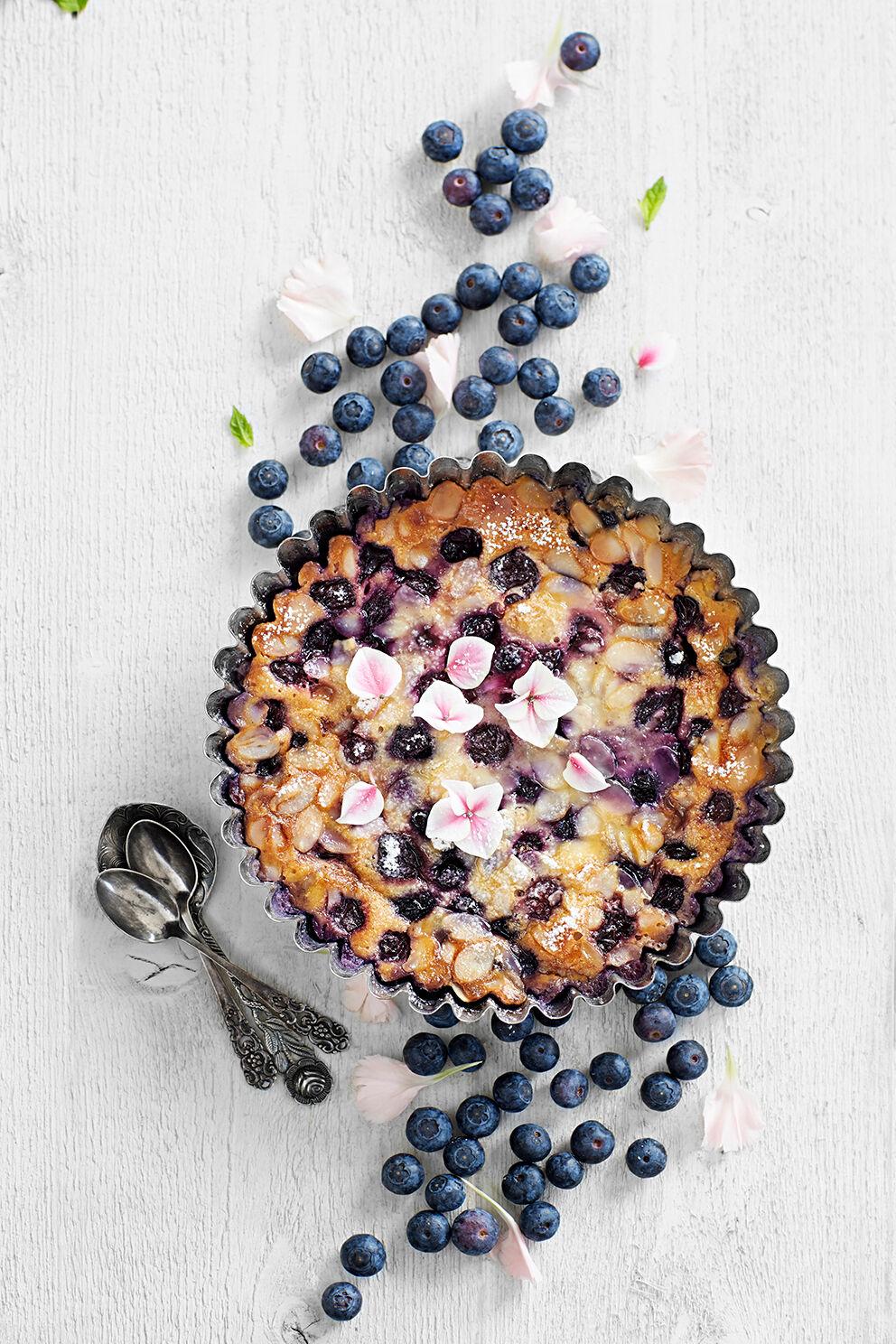 blåbärspaj recept