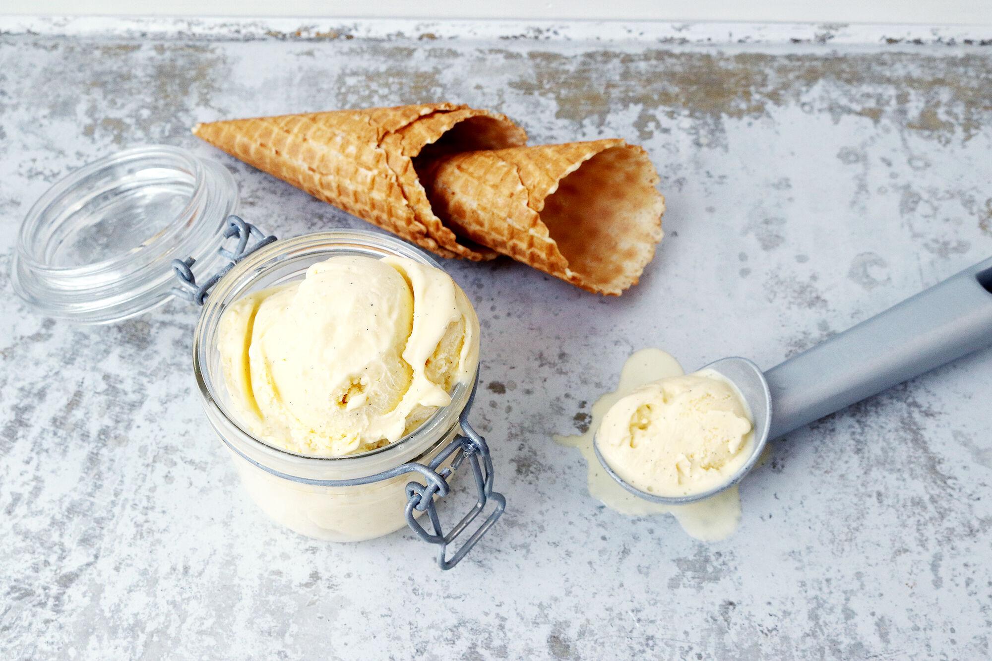 vaniljglass
