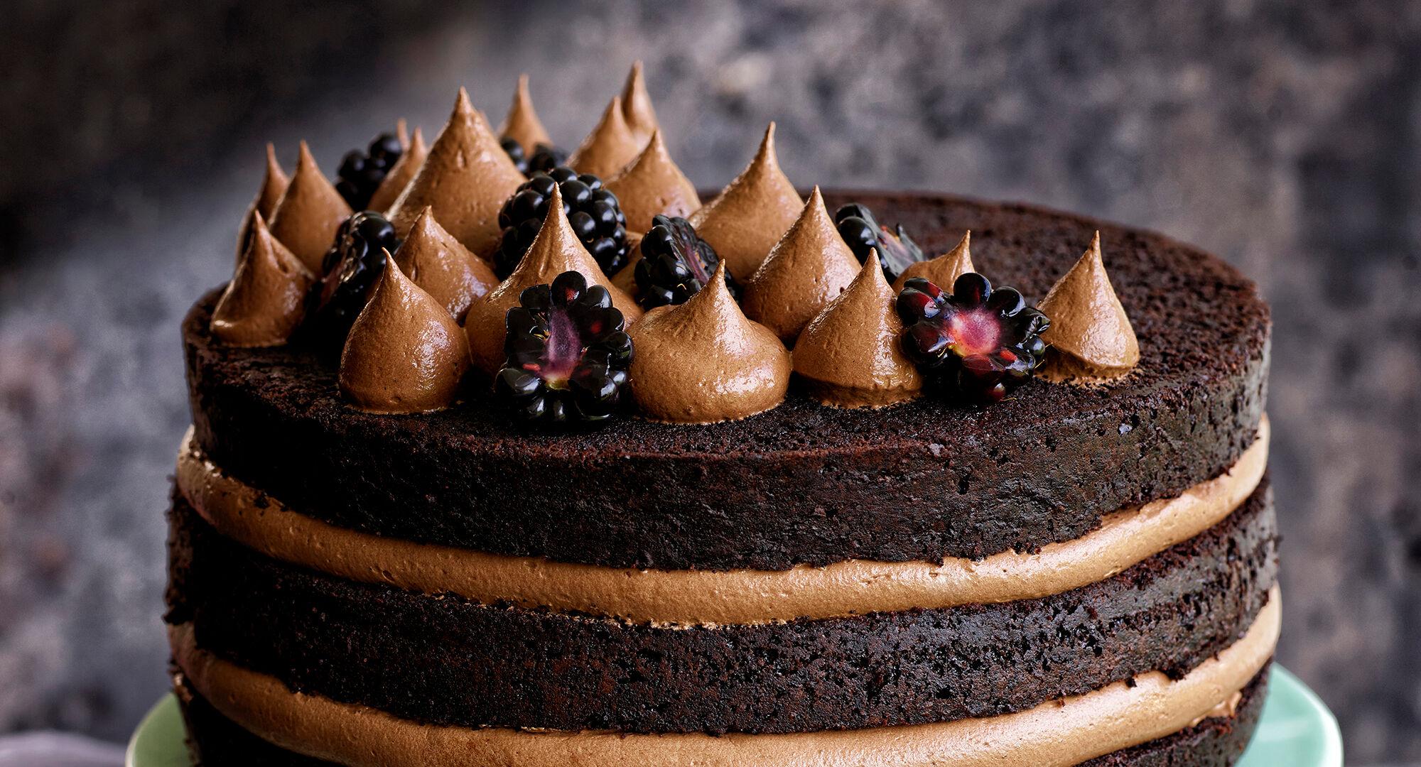 chokladfyllning tårta recept