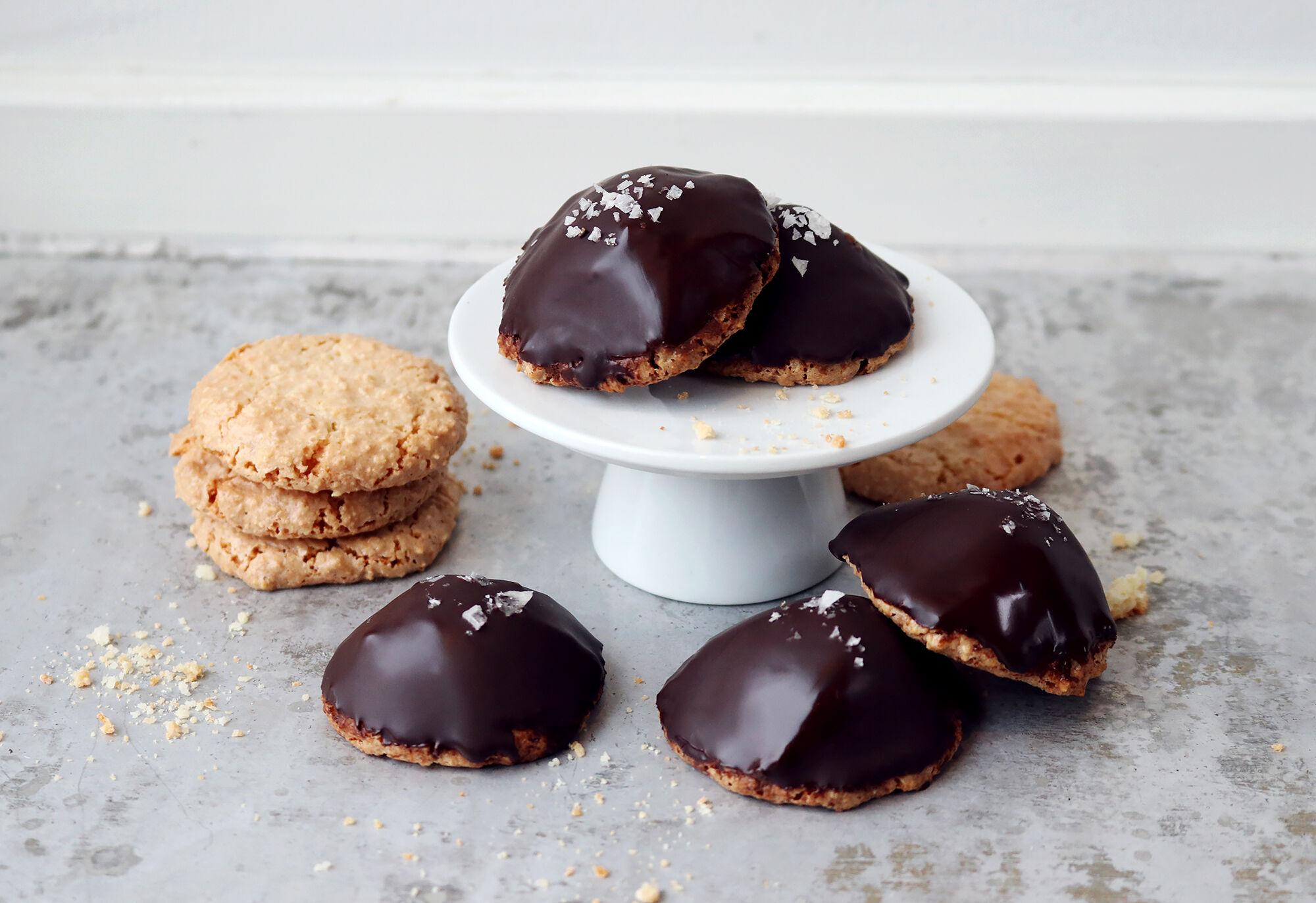 biskvier choklad