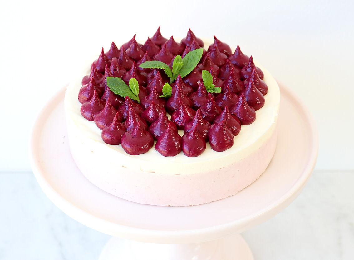 rabarbermousse tarta 1