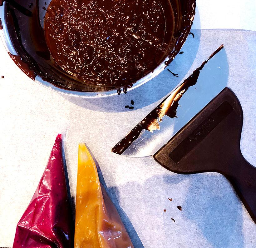 temperera choklad 2