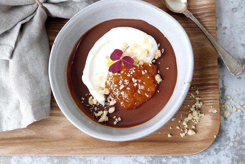 pannacotta choklad
