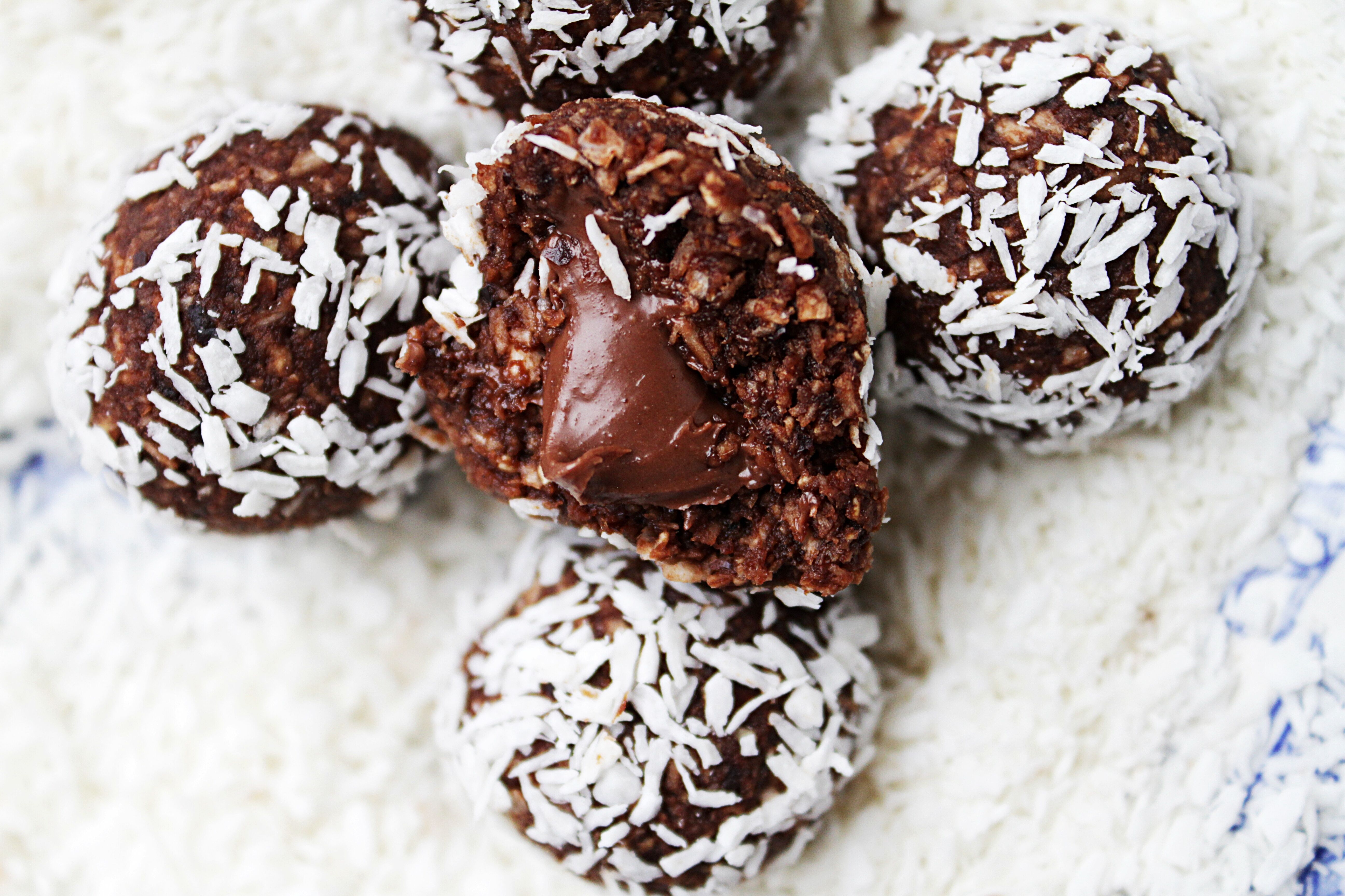 veganska chokladbollar recept