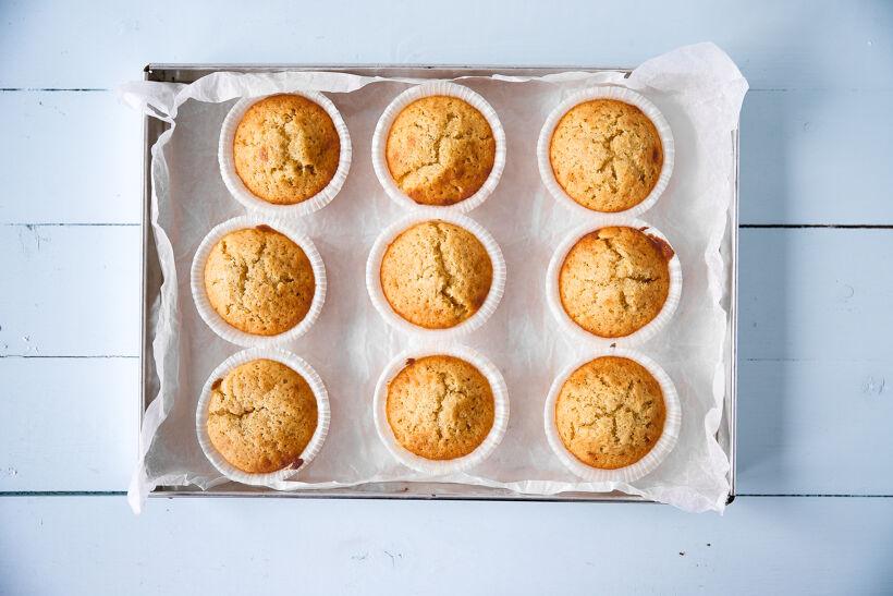 Vaniljmuffins med Hallonfrosting