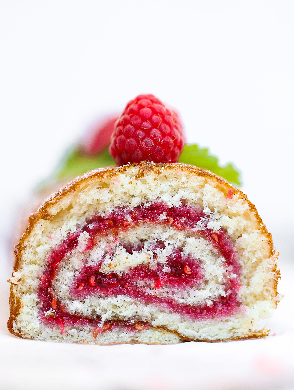 Rulltårta med sylt
