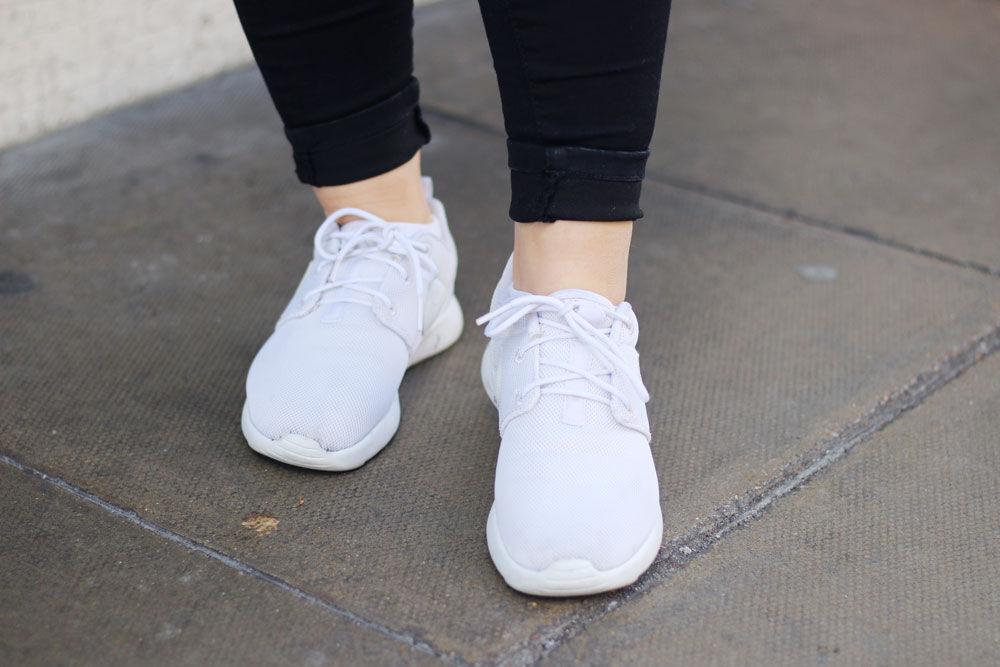 Tips för vita sneakers | Mathilda Lundqvist | Alltommat