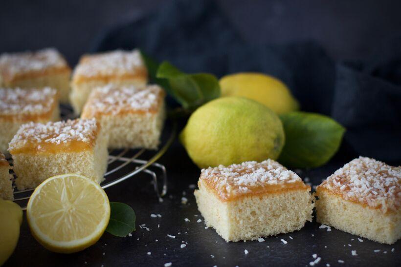 Silviakaka med citron