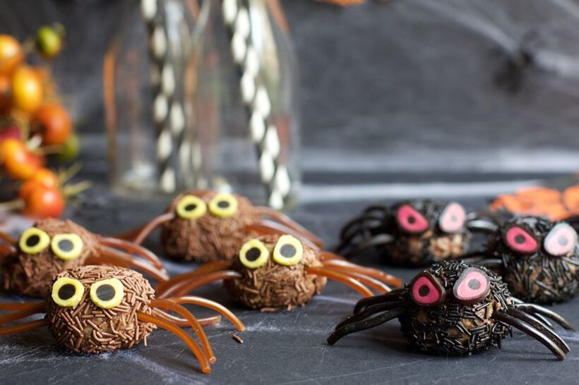 Chokladbollsspindlar