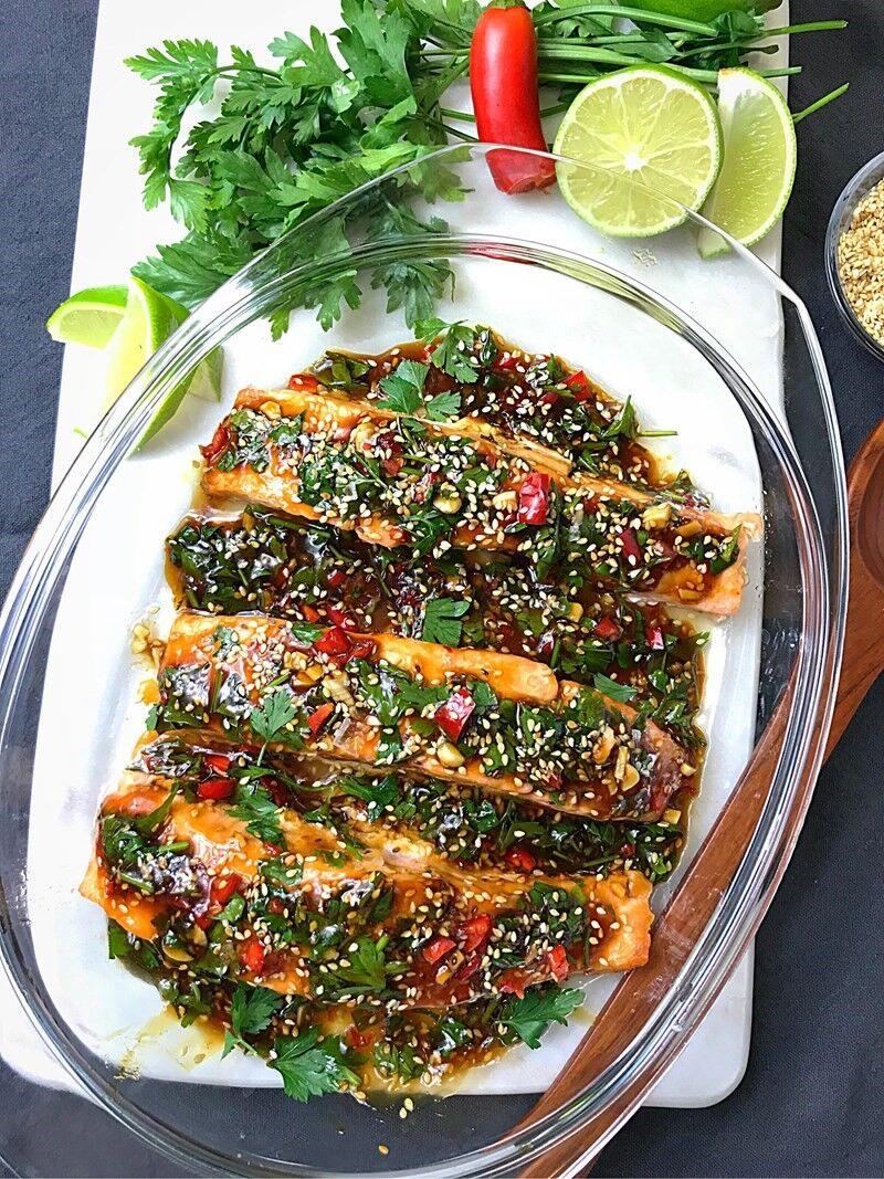 Lax med asiatiska smaker zofias kök