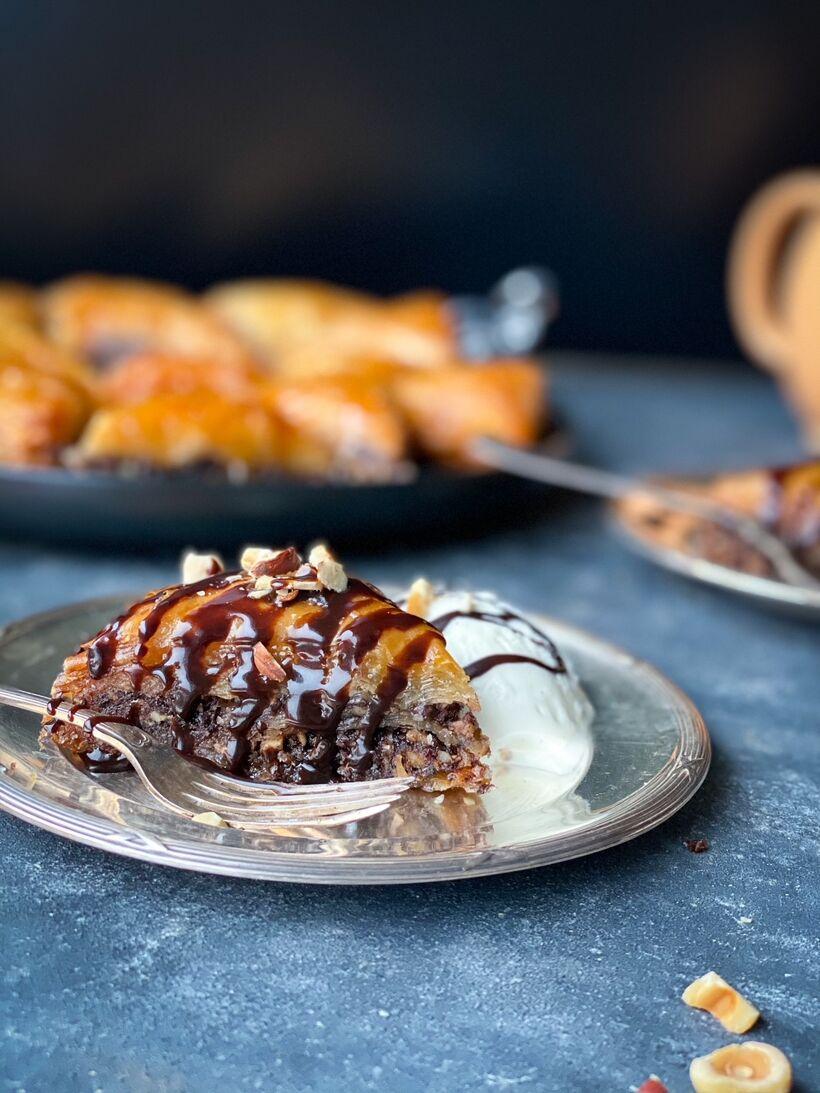 Baklava med nutella