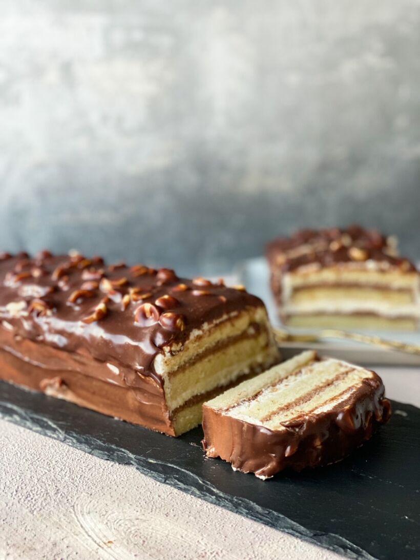 Nutella tårta