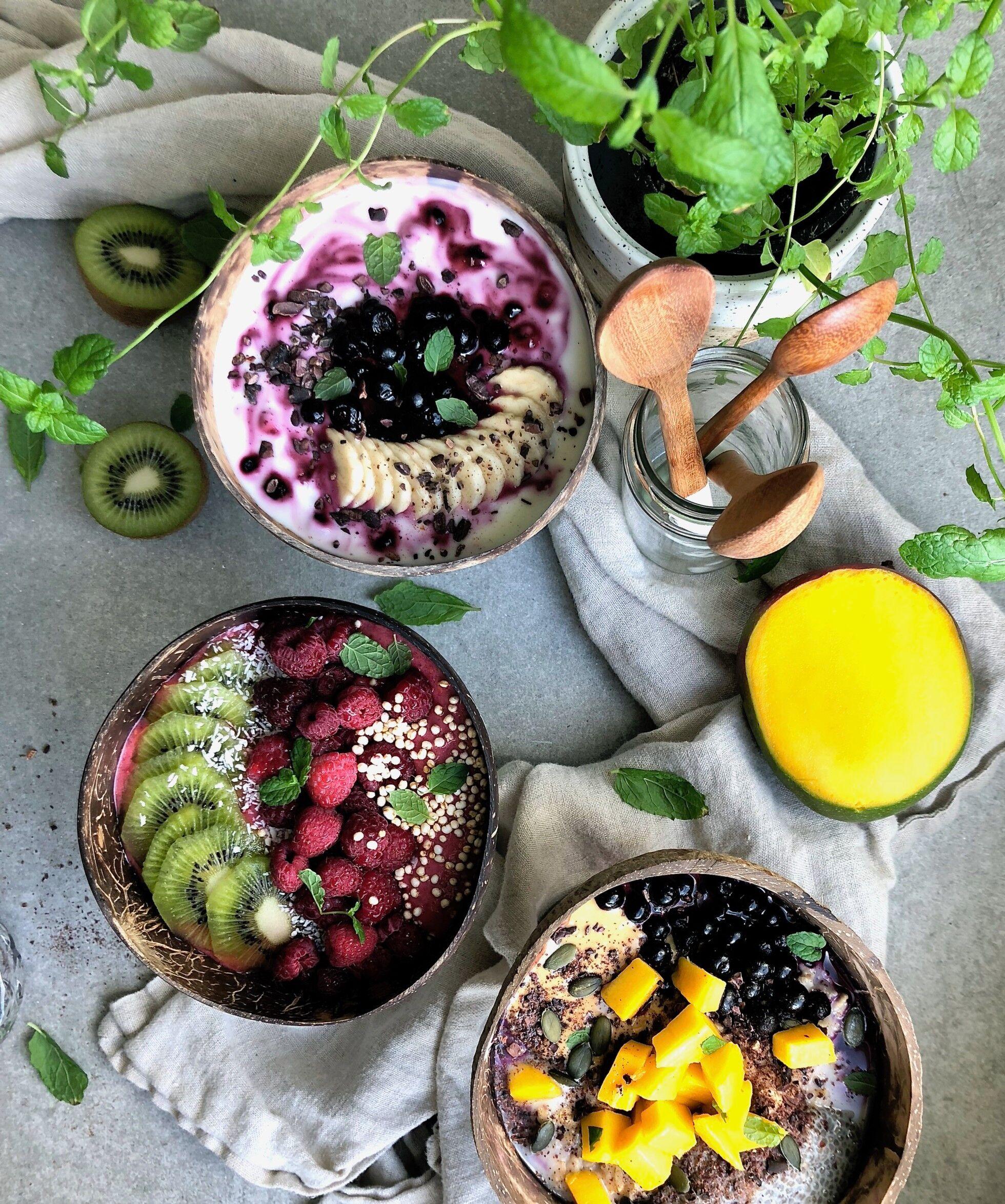 3 frukostbowls