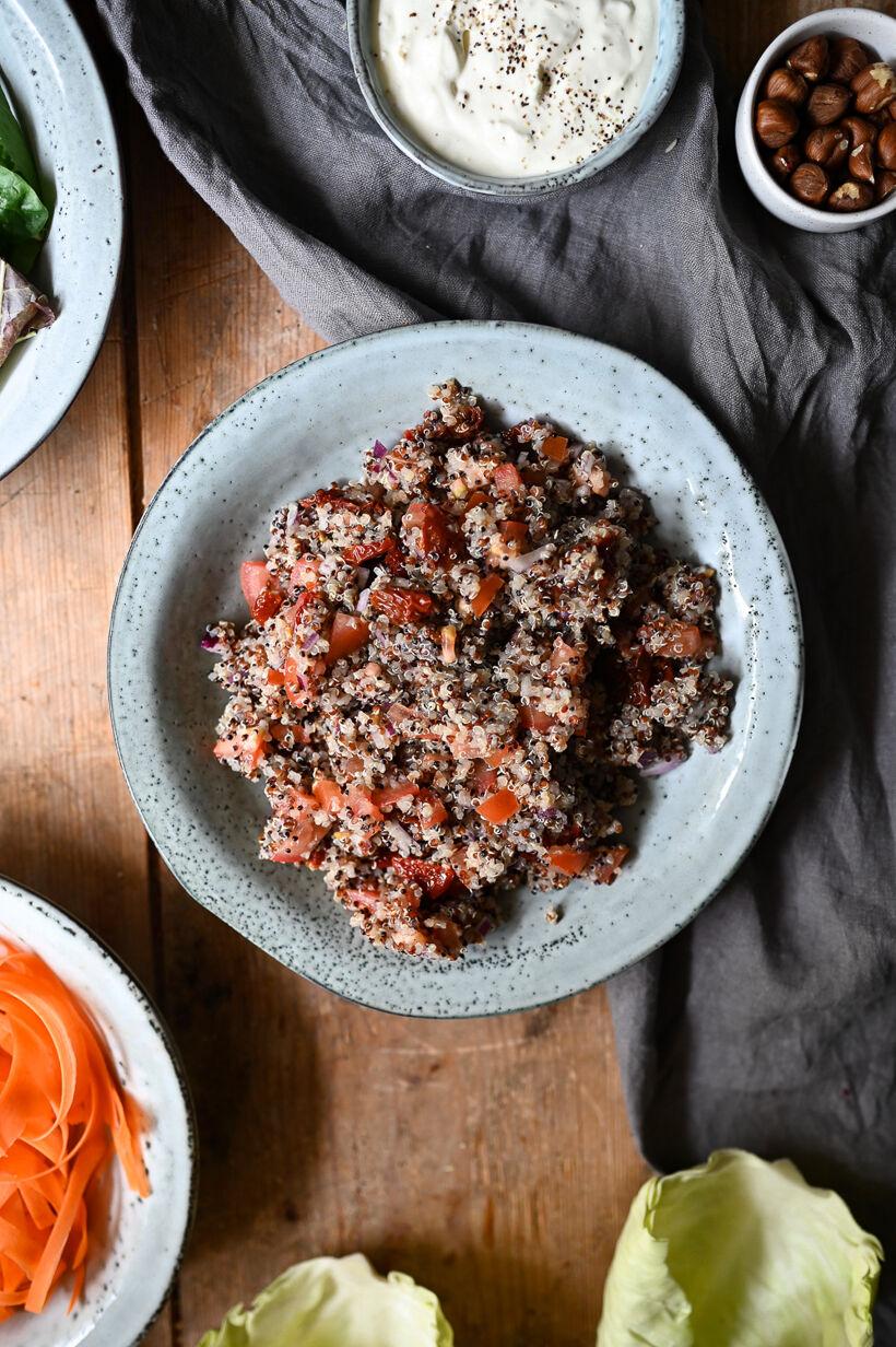 quinoa-sallad