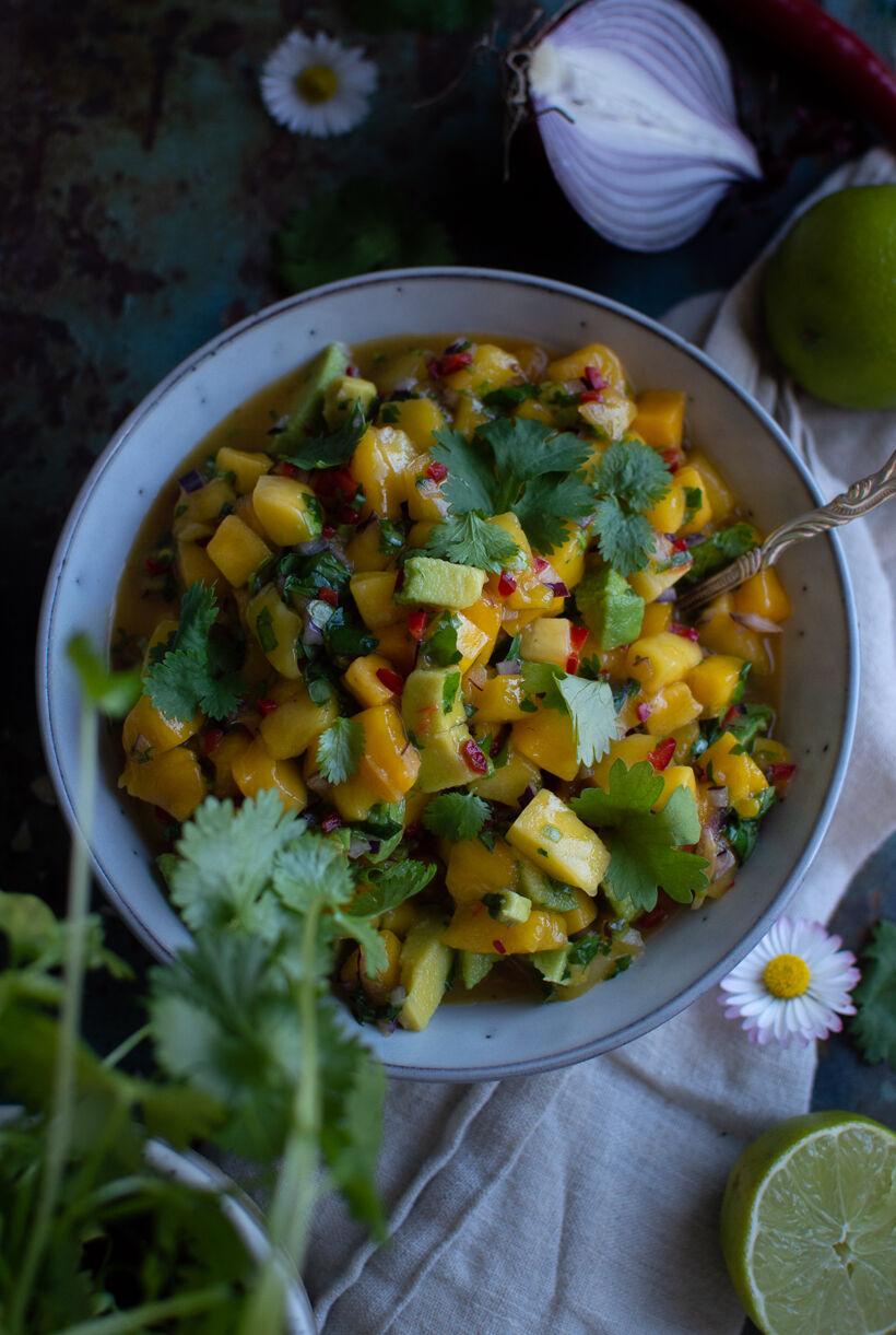 salsa med mango