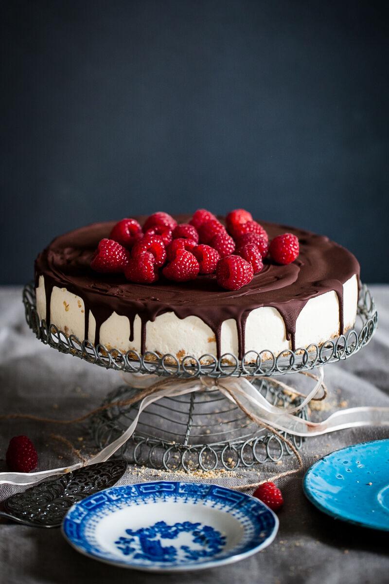 fryst cheesecake med daim