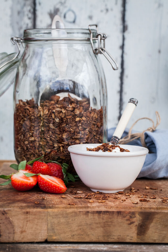 nyttig chokladgranola