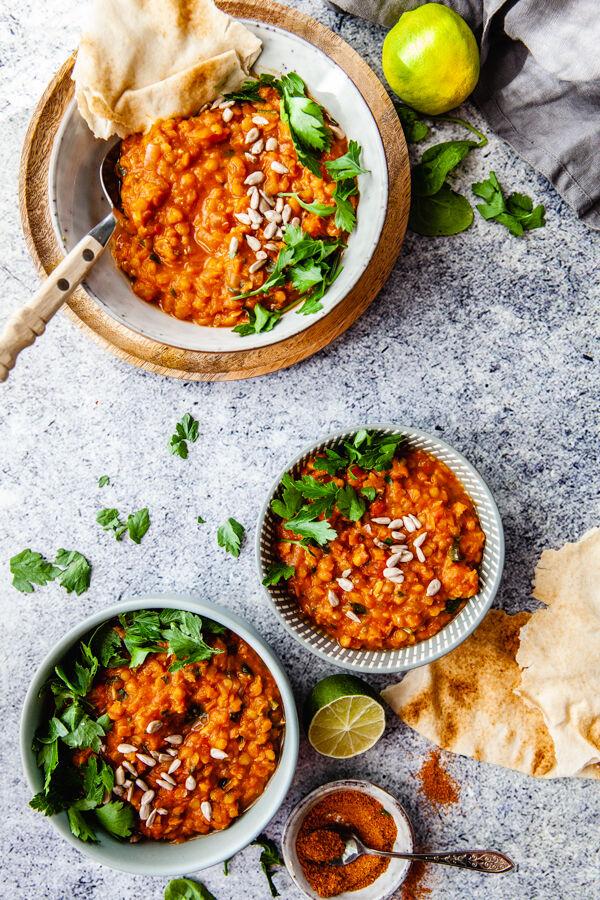 vegogryta, vegansk gryta, linser, vegetarisk mat