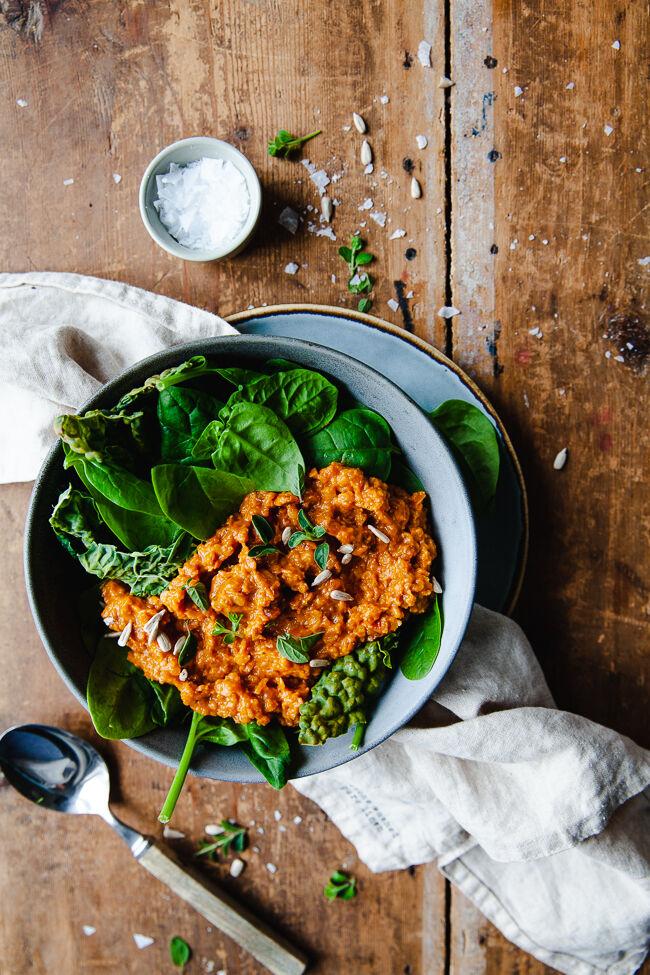 vegetarisk stroganoff, vego, middag, vardagsmat