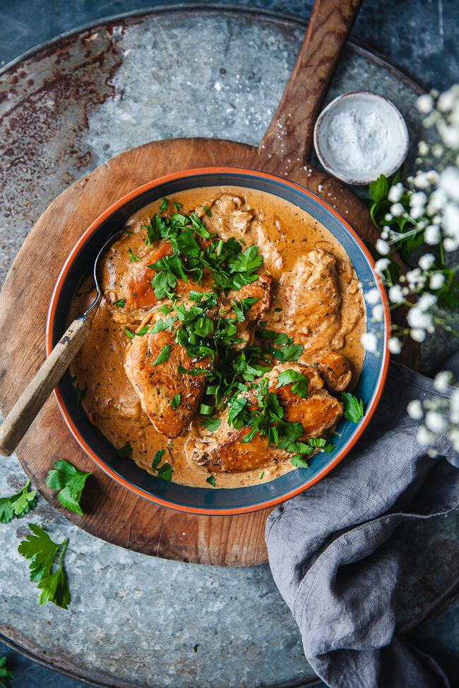 Kyckling i Crock Pot, kycklinggryta,