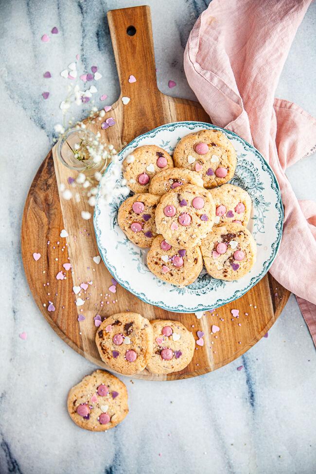 cookies, kakor, alla hjärtans dag
