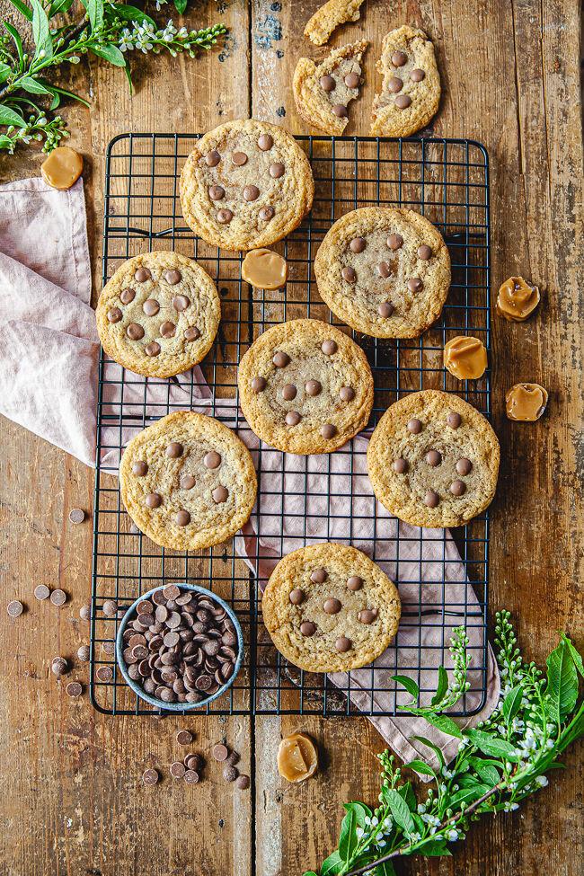 cookies, chocolate chip cookies, kola, rollokola