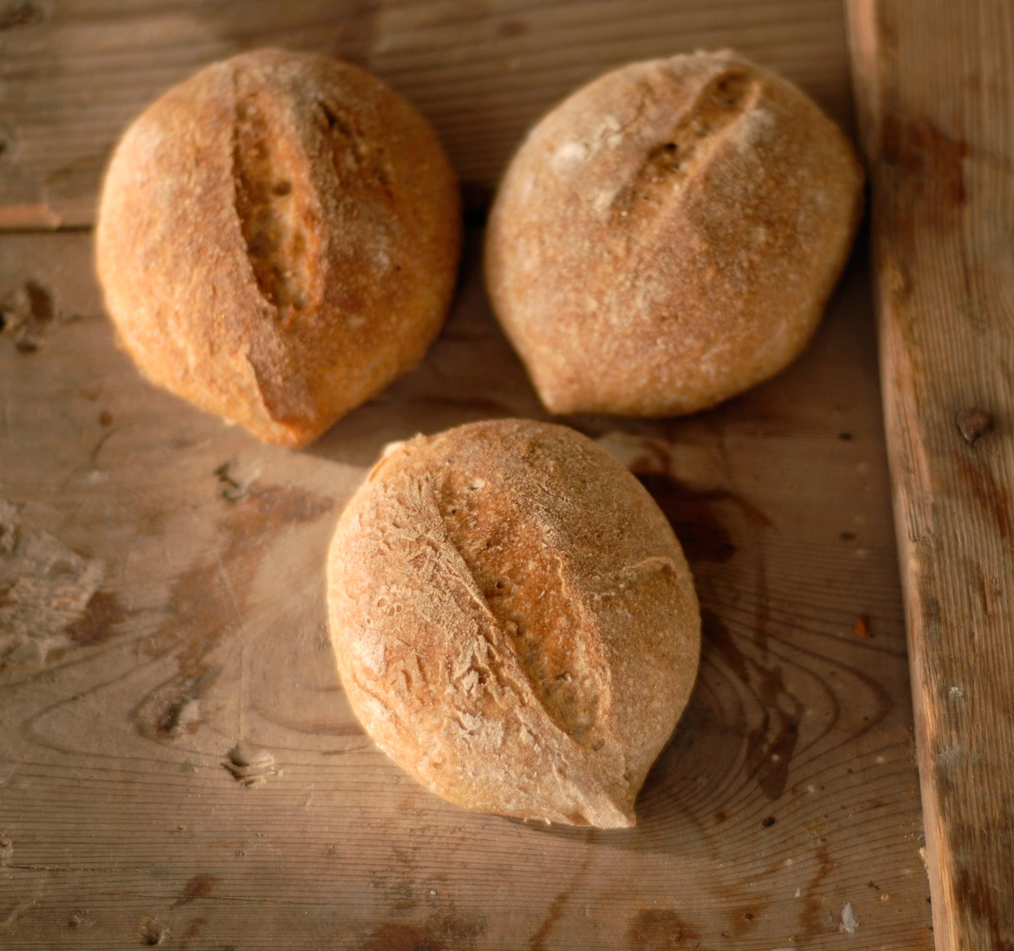 Kalljästa bröd