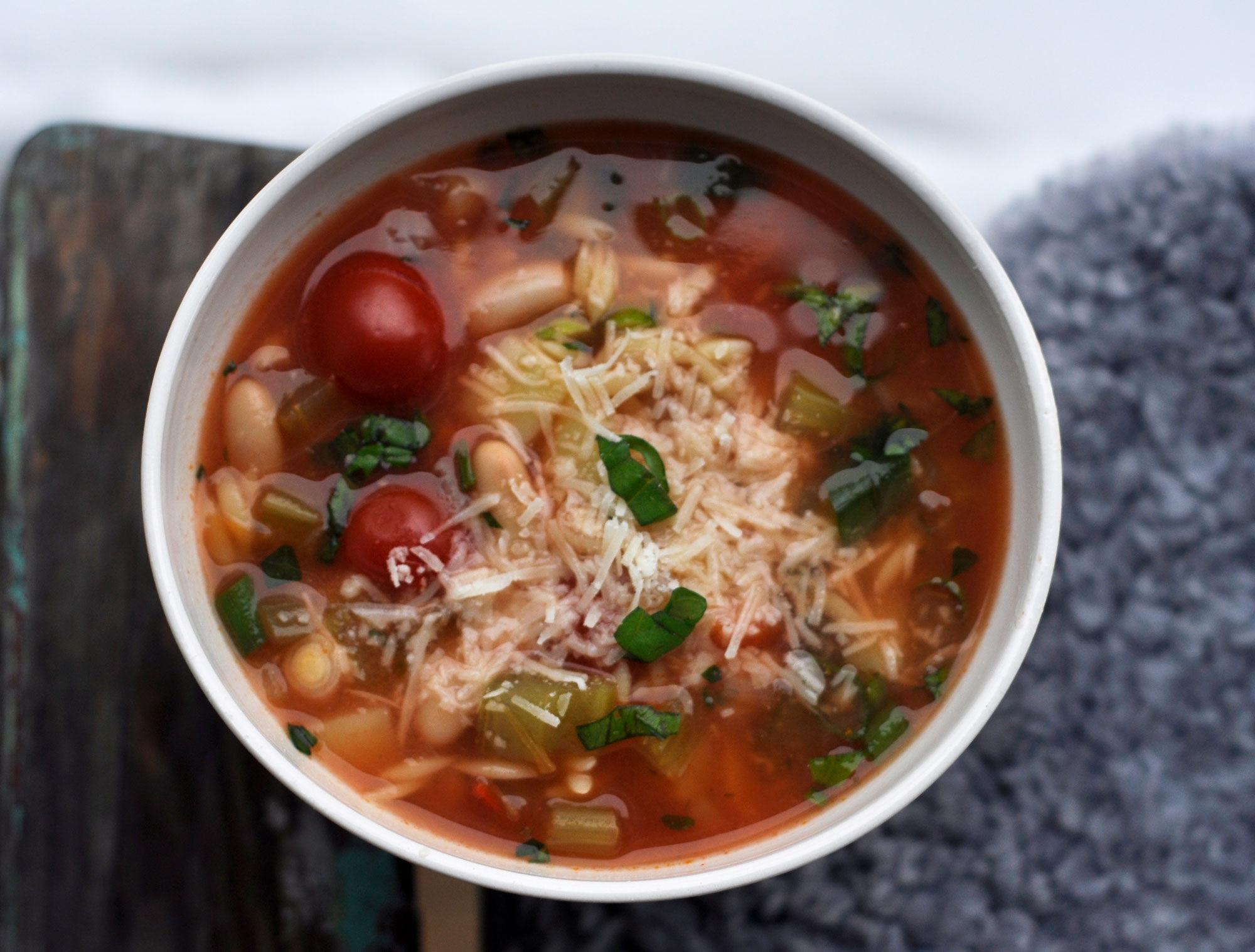 Minestrone - grönsakssoppa