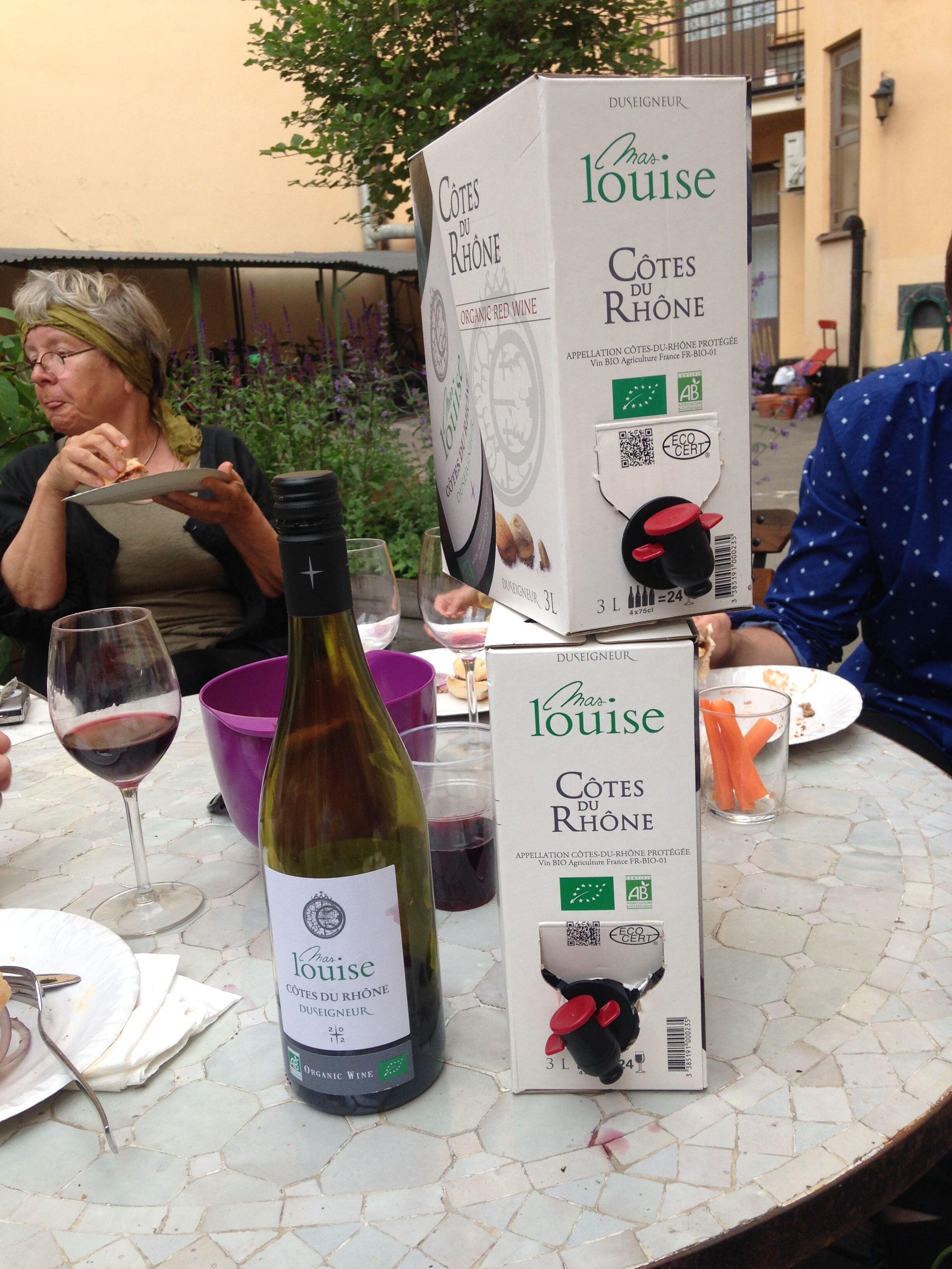 Vin på box - är det lika bra som flaska?