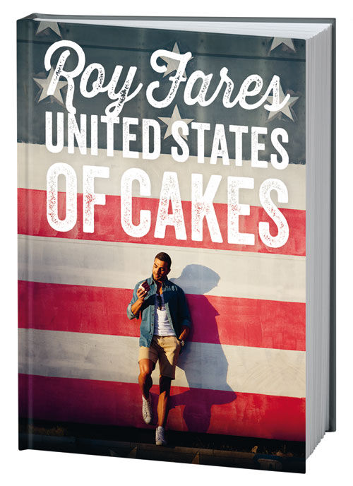 Omslaget till United States of Cakes av Roy Fares