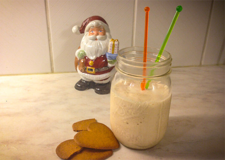 Milkshake med pepparkaka