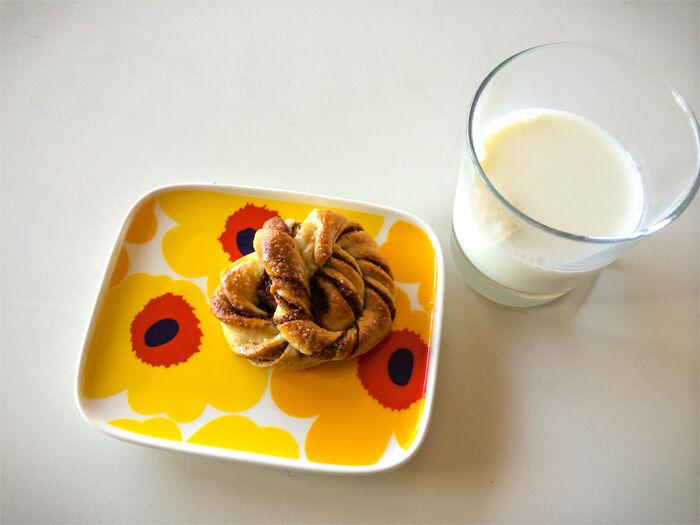 Perfekta kanelbullar med mjölk