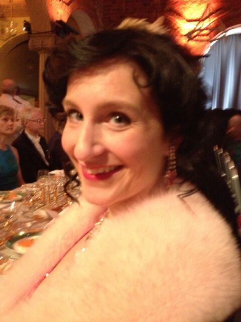 Sigrid på Nobelfesten