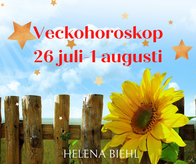 Veckohoroskop vecka 30