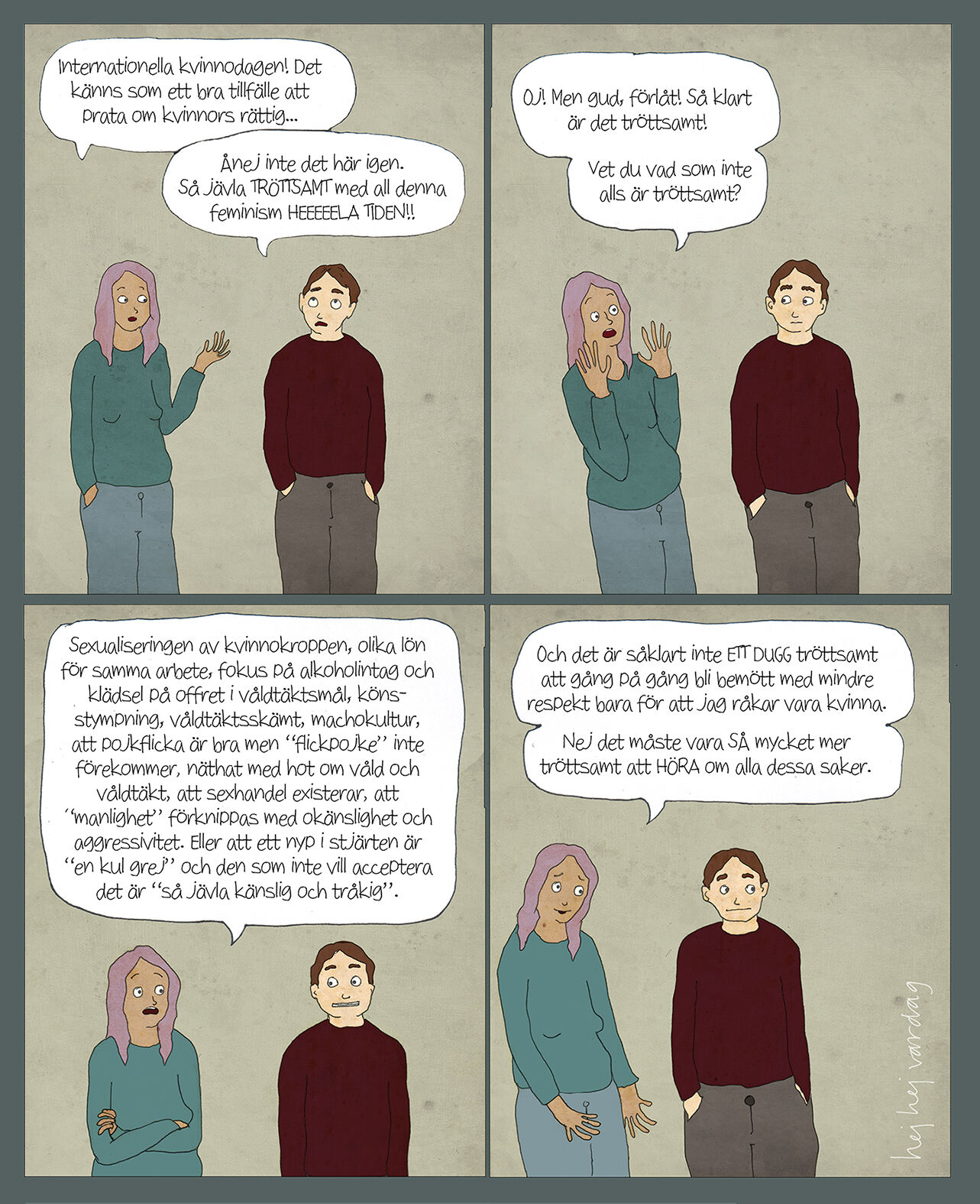 tröttsam feminism
