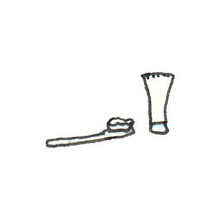 borsta-tander