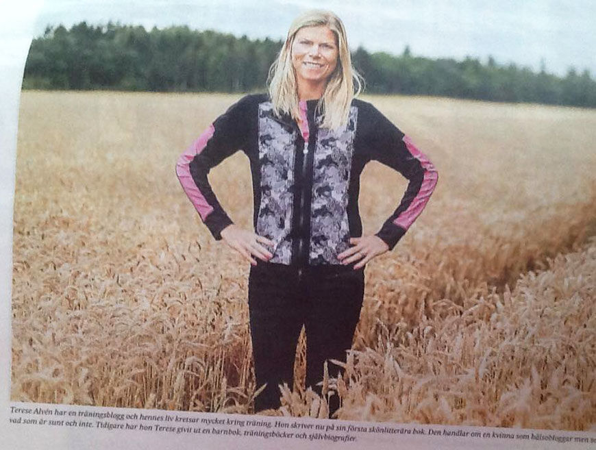 I Svenska Dagbladet.