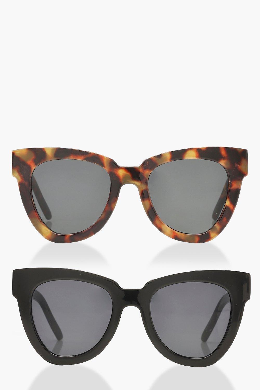 dam-multi-oversize-solglasögon-med-stora-bågar-(2-pack)