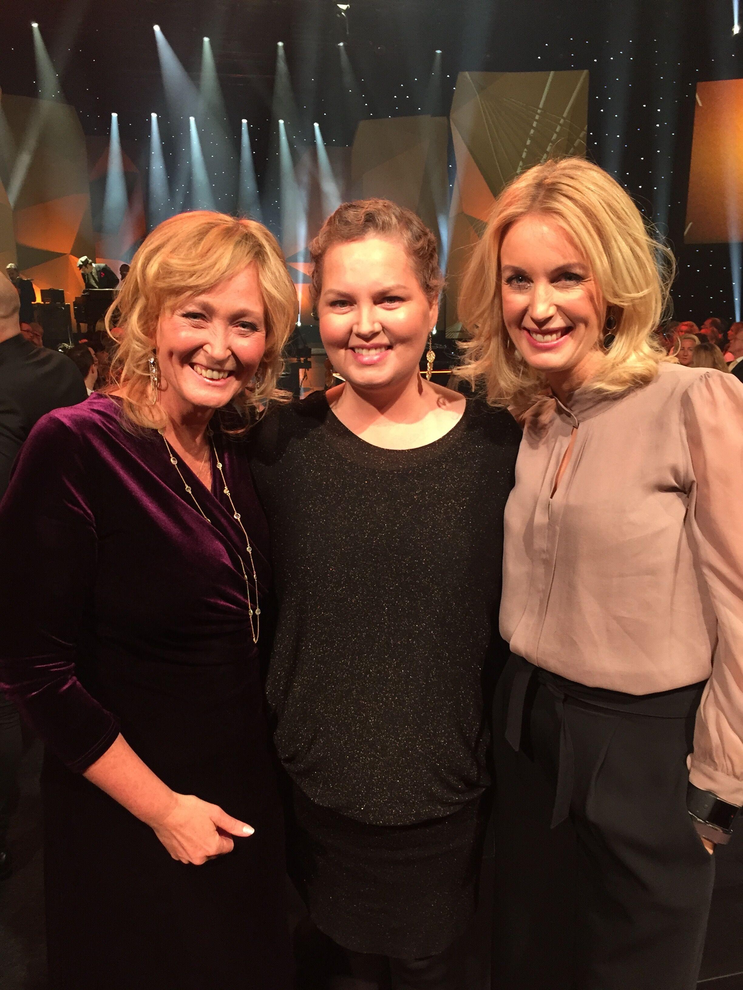 Tillsammans med Carina Nilsson och Jenny Strömstedt.