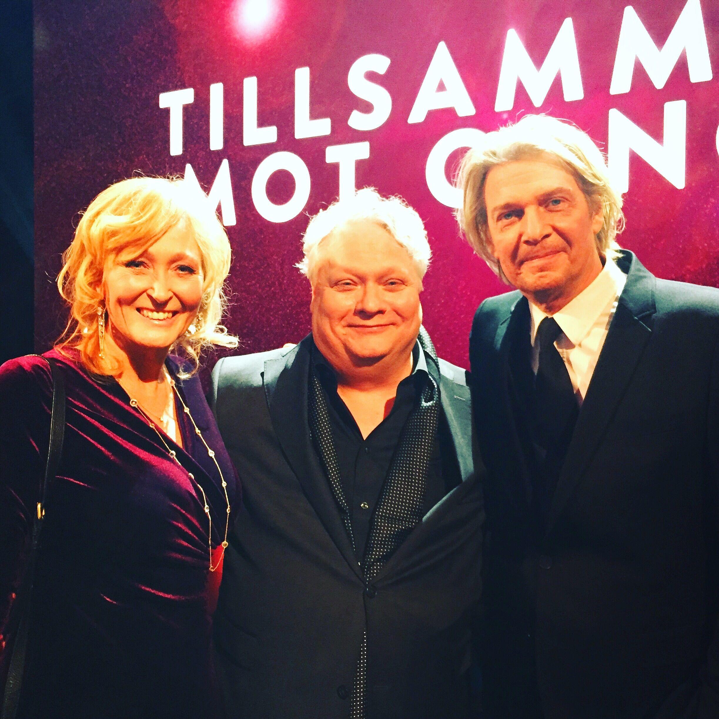 Både Kjell Wilhemsen och Tommy Nilsson uppträdde på galan.