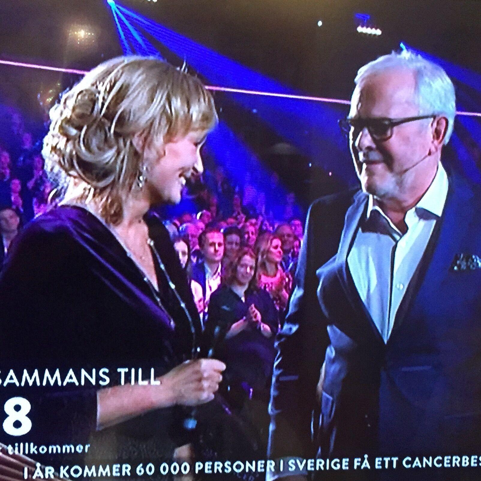 Med programledaren Bengt Magnusson i direktsändning.